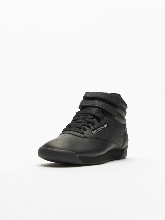 Reebok Sneakers Freestyle Hi Basketball Shoes czarny
