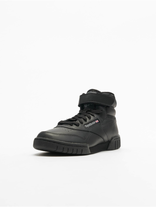 Reebok Sneakers Exofit Hi Basketball Shoes czarny