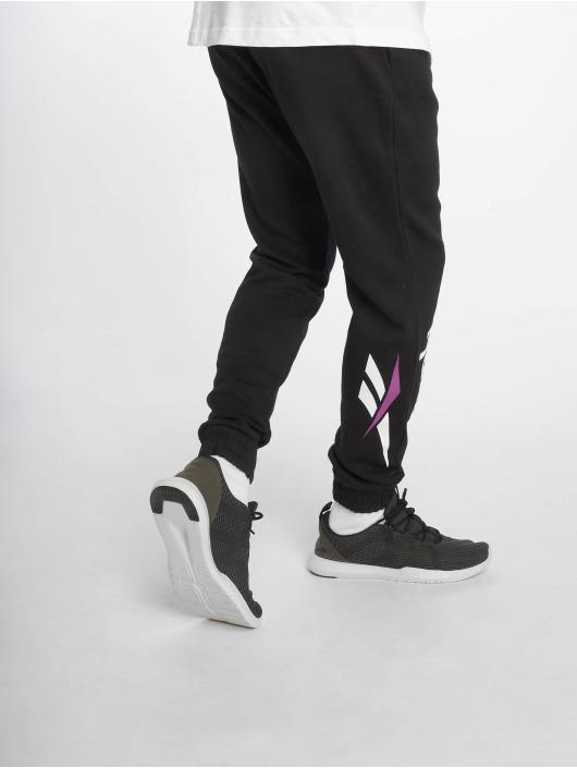 Reebok Spodnie do joggingu Classic Vector czarny