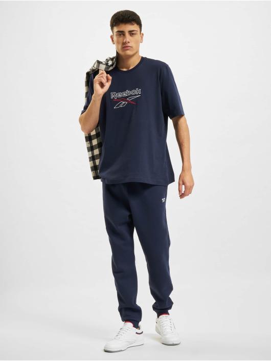 Reebok Spodnie do joggingu RI Fleece Jogger niebieski