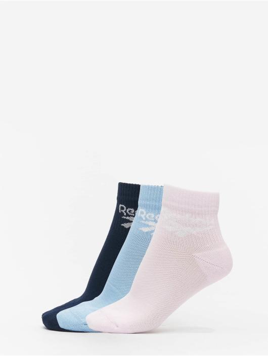 Reebok Sukat Classic FO Ankle 3 sininen