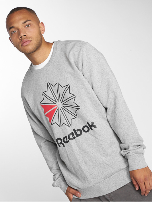Big amp; Reebok Starcrest Gris Ac Homme 464241 Pull Sweat Ft qFEFHpT