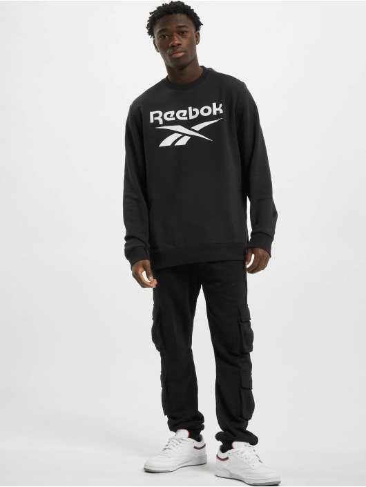 Reebok Sweat & Pull Identity French Terry Big Logo noir