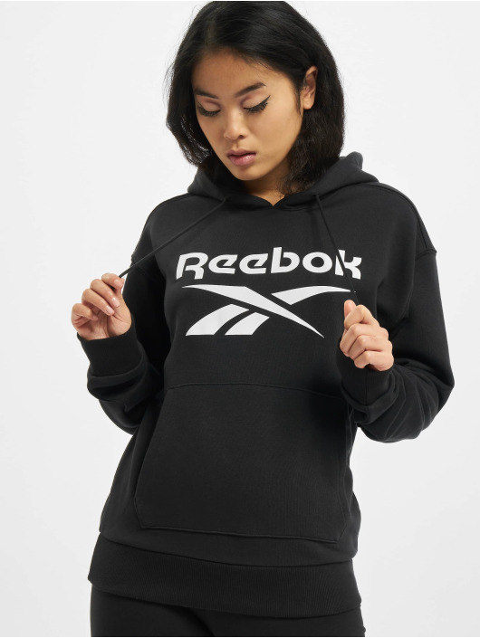 Reebok Sweat capuche Identity Big Logo French Terry noir