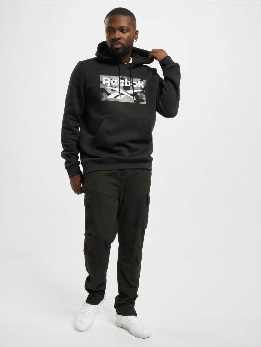 Reebok Swetry Camo czarny