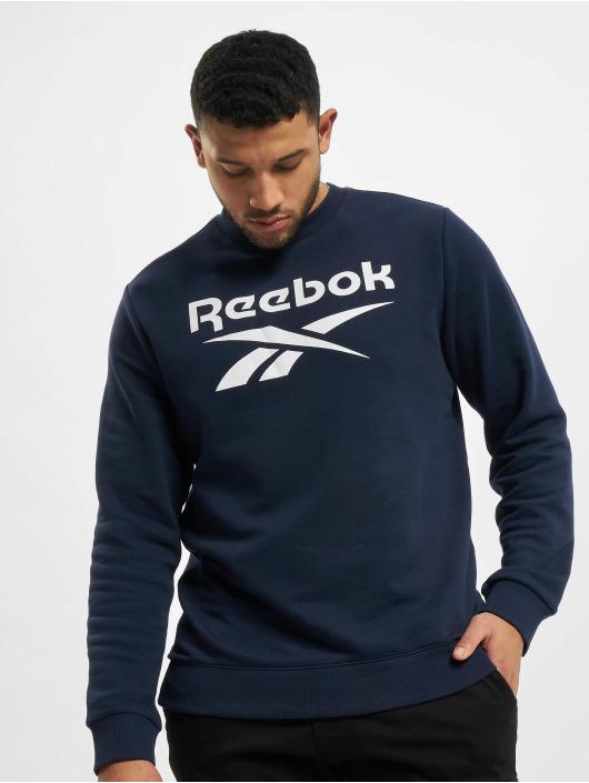 Reebok Swetry Identity French Terry Big Logo niebieski