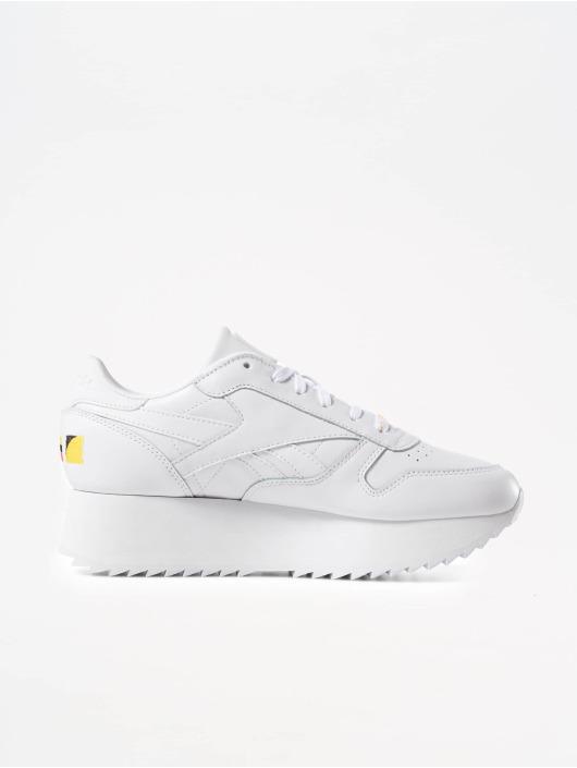Reebok Tøysko Classic Leather Double hvit