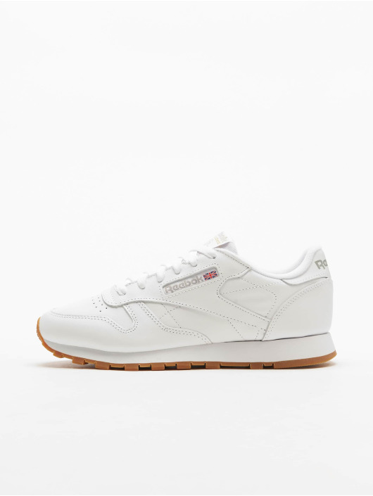 Reebok Tøysko Classic Leather hvit