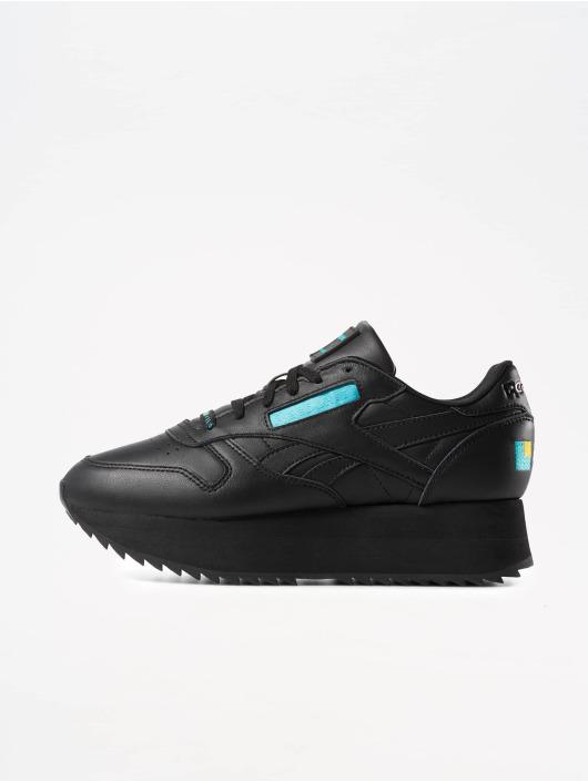 Reebok Tøysko Classic Leather Double svart
