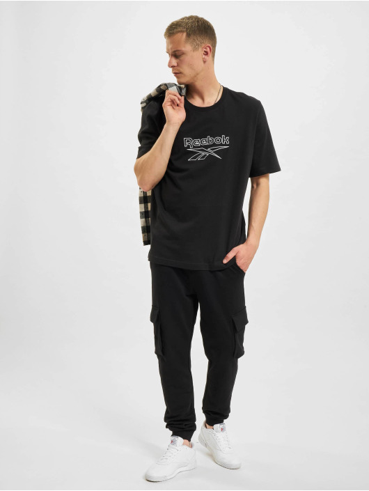 Reebok T-paidat CL F Vector musta