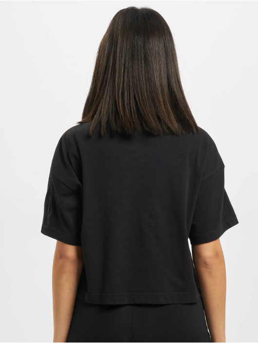 Reebok T-Shirt QQR Cropped black