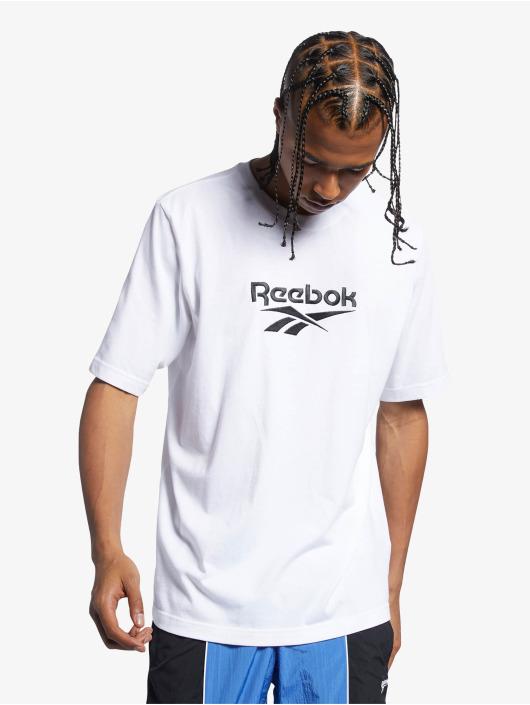 Reebok T-Shirt Classics Premium Vector blanc