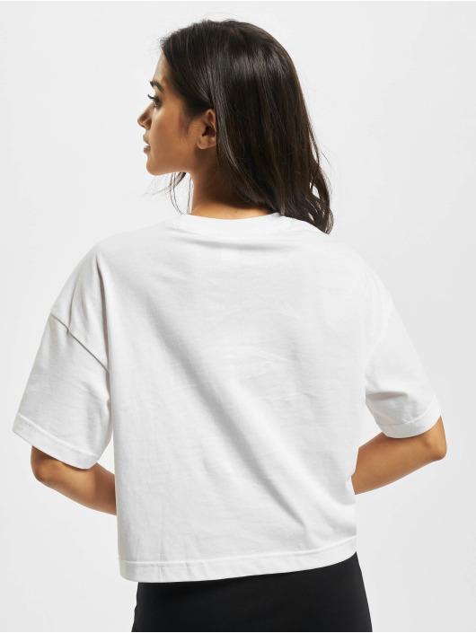 Reebok T-Shirt QQR Cropped blanc