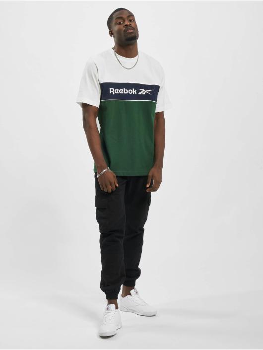 Reebok T-Shirt F Linear blanc