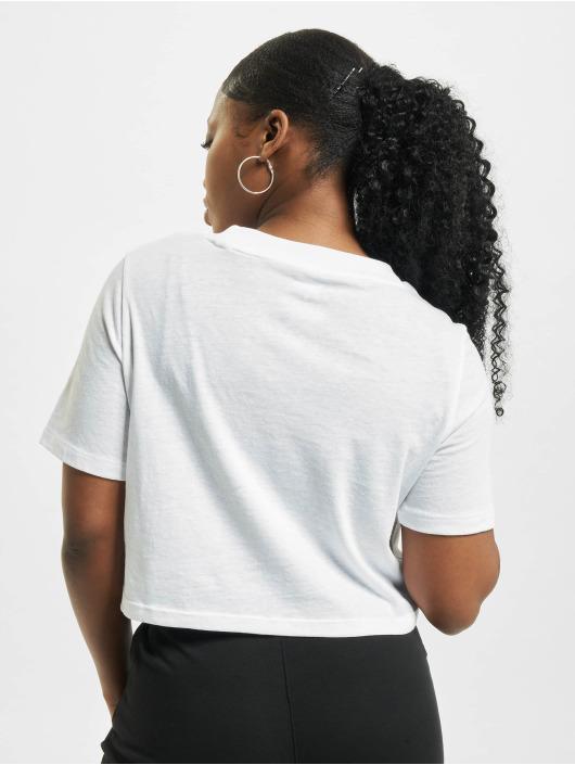 Reebok T-Shirt Identity Crop blanc