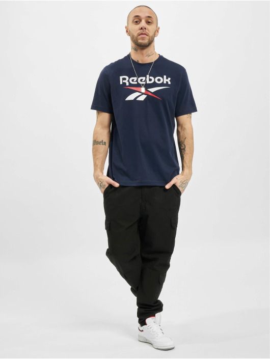 Reebok T-Shirt Identity Big Logo blau