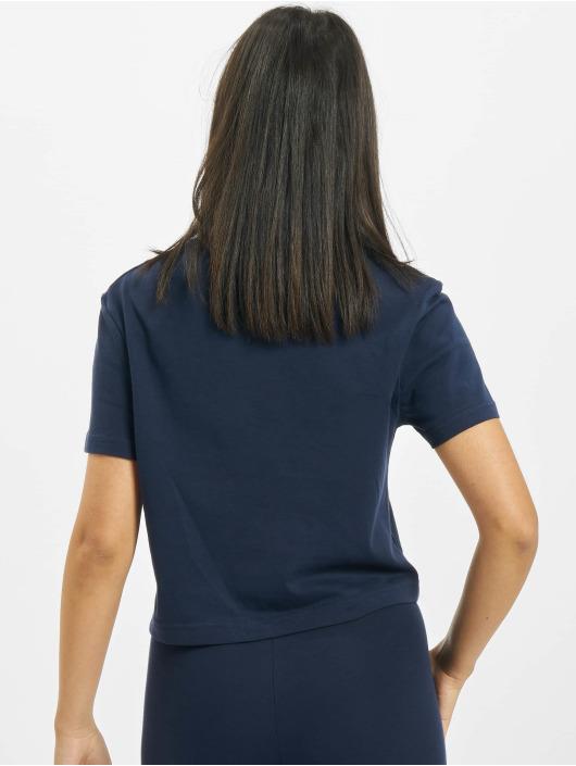 Reebok t-shirt Classics F Big Logo blauw