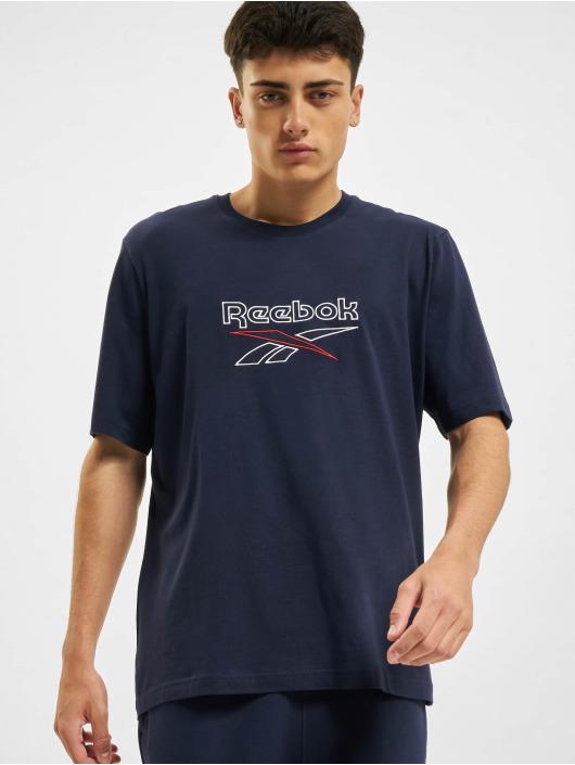 Reebok t-shirt CL F Vector blauw