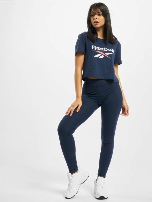 Reebok T-Shirt Classics F Big Logo bleu