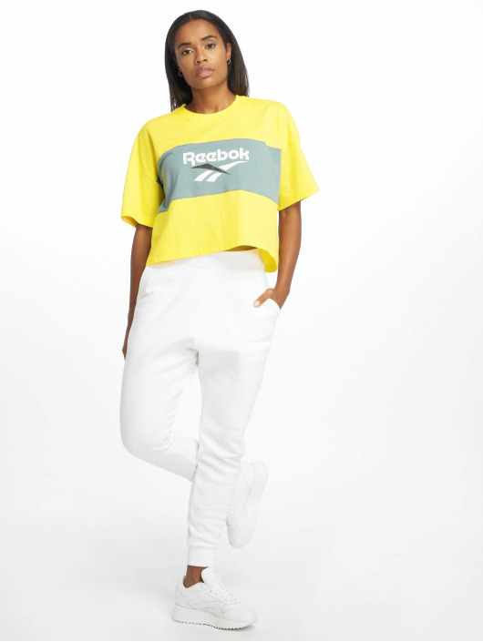 Reebok T-Shirt Cl V P Cropeed gelb