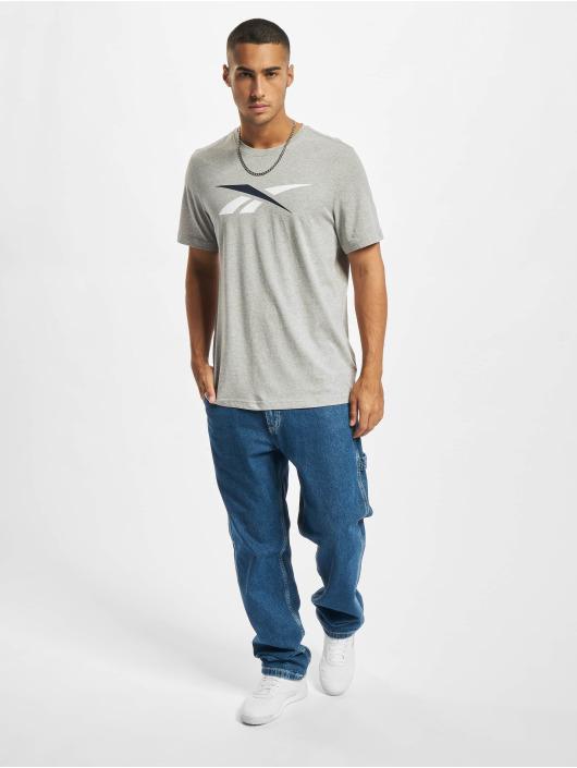 Reebok T-Shirt TE Vector Logo grau
