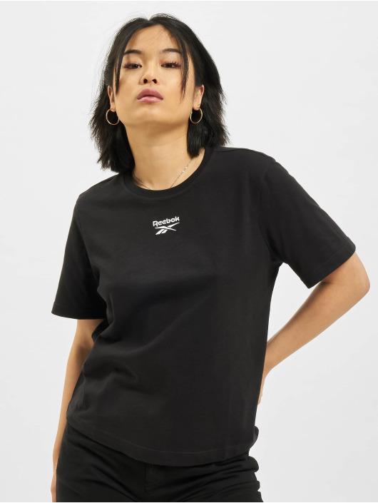 Reebok T-Shirt CL F Small Logo noir