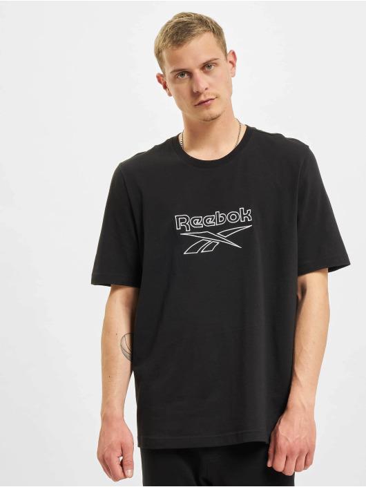 Reebok T-Shirt CL F Vector noir