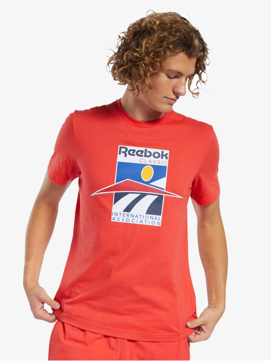 Reebok T-Shirt Classics International Sport red