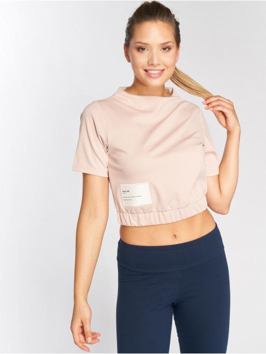 Reebok T-Shirt Es Crop rosa