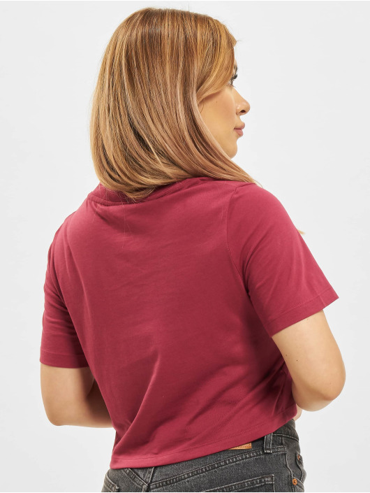 Reebok T-Shirt Ri Crop rouge