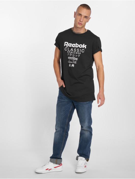 Reebok T-Shirt GP Unisex Long schwarz