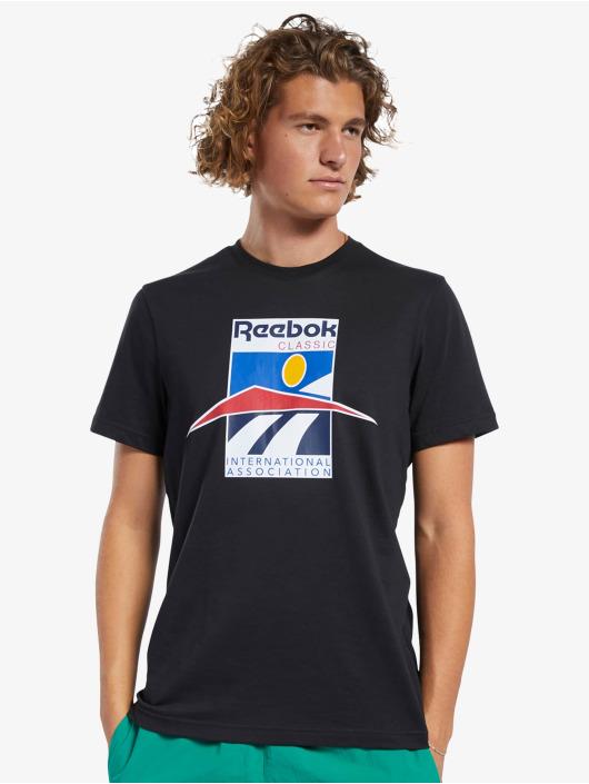 Reebok T-Shirt Classics International Sport schwarz