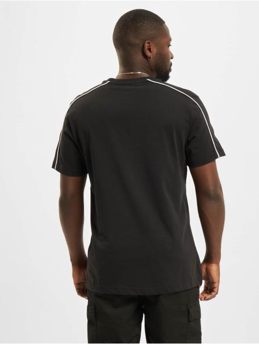 Reebok T-Shirt TE Piping schwarz