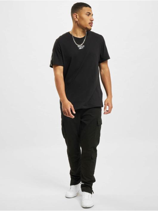 Reebok T-shirt TE Tape svart