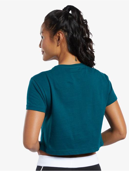 Reebok t-shirt Classics F Vector Crop turquois