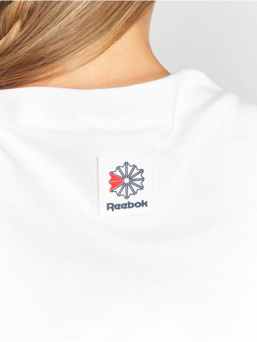 Reebok T-Shirt Es Crop weiß