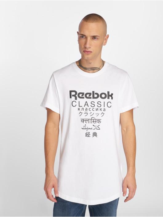 Reebok T-Shirt GP Unisex Longe weiß
