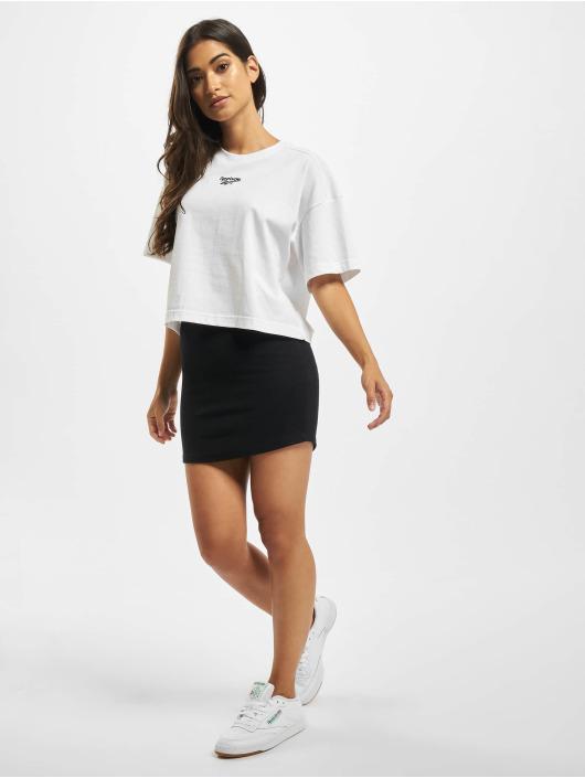 Reebok T-Shirt QQR Cropped weiß