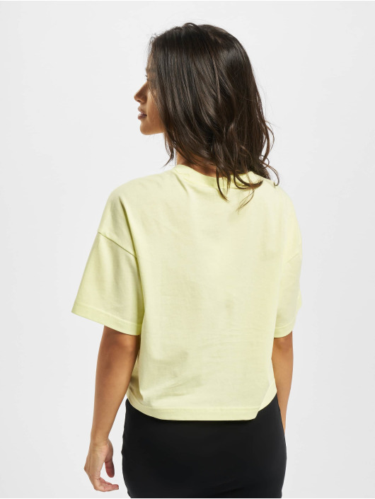 Reebok T-Shirt QQR Cropped yellow