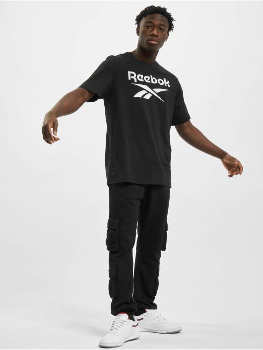 Reebok t-shirt Ri Big Logo zwart