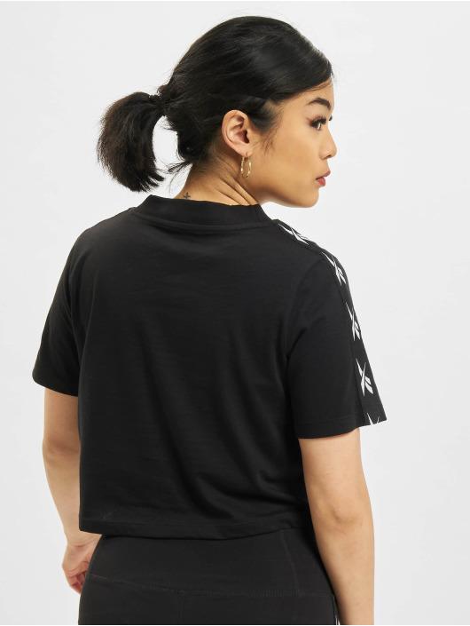 Reebok t-shirt TE Tape Pack zwart