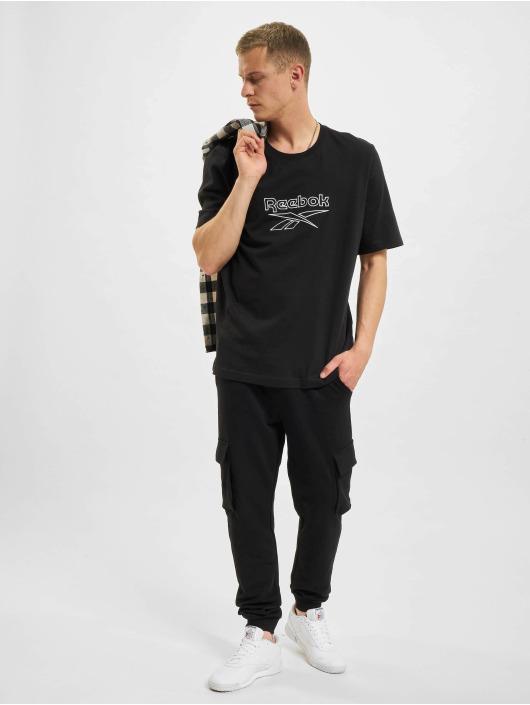Reebok t-shirt CL F Vector zwart