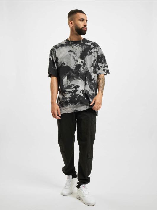 Reebok t-shirt MYT AOP zwart