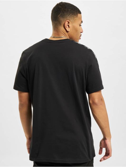 Reebok t-shirt TE Tape zwart