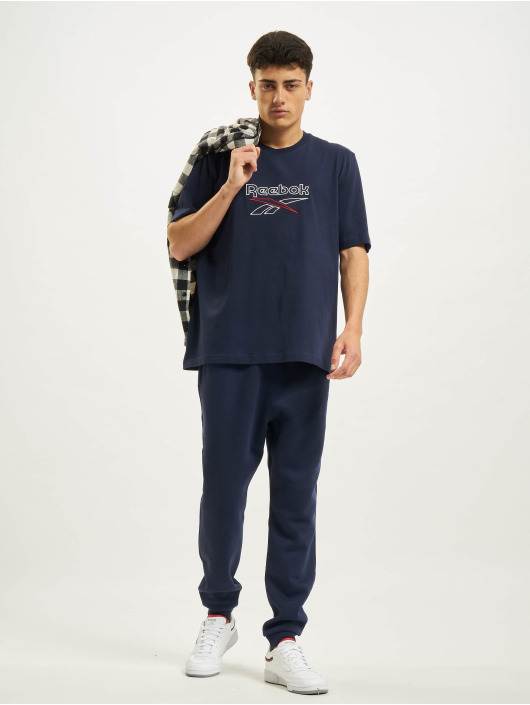 Reebok T-shirts CL F Vector blå