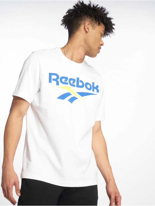 Reebok T-Shirty Classic V bialy