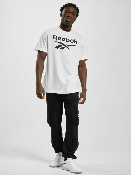 Reebok T-Shirty Ri Big Logo bialy