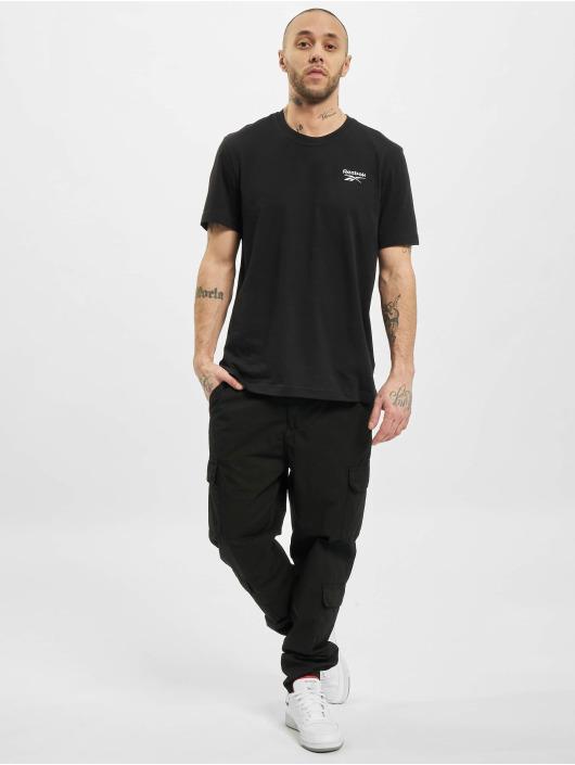 Reebok T-Shirty Identity Classic czarny