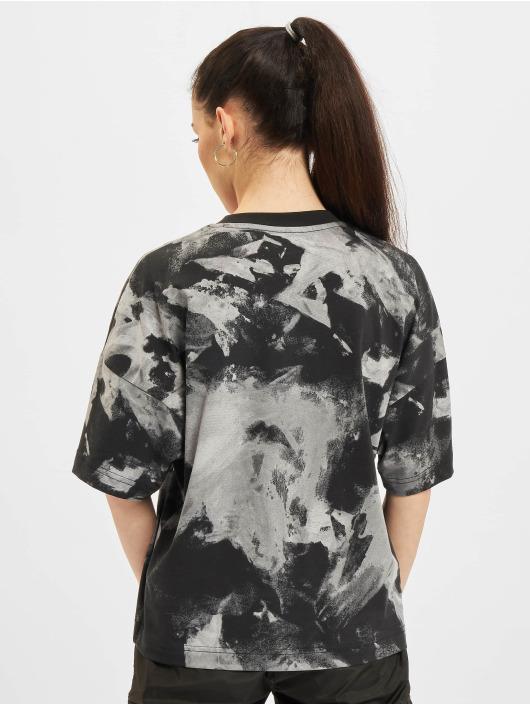 Reebok T-Shirty Myt Aop Tie Dye czarny