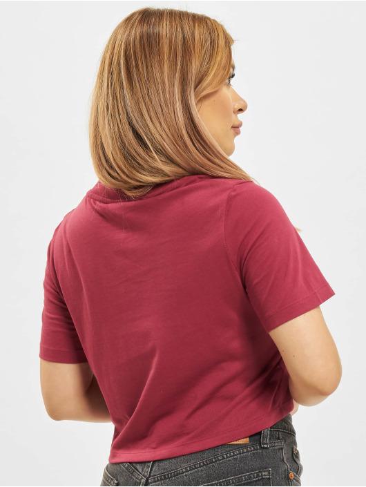 Reebok T-Shirty Ri Crop czerwony
